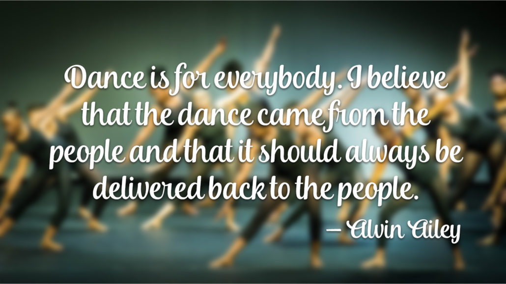 Alvin Ailey Quote
